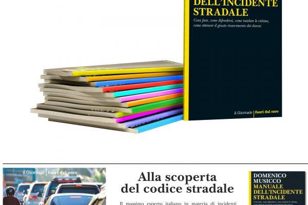 MANUALE DELL'INCIDENTE STRADALE, il libro di Musicco allegato a IL GIORNALE